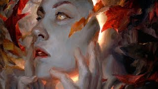 Autumn Metamorphosis | Oil Painting + Chat