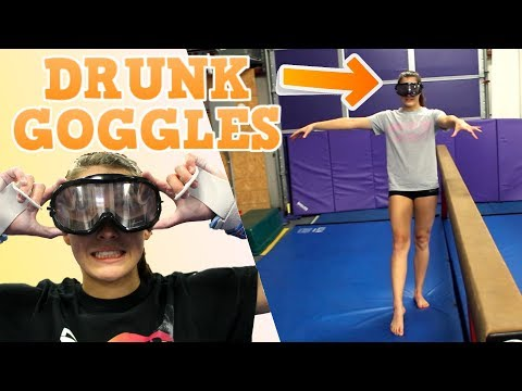 Testing DRUNK GOGGLES at the Gym!