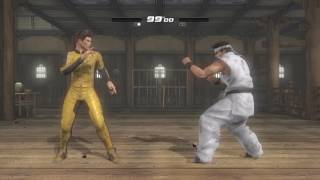DEAD OR ALIVE 5 Jann Lee vs Akira Game of death