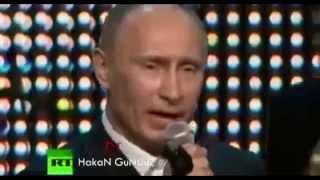 Путин поет по турецки