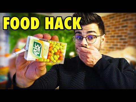 JE TESTE DES FOOD HACK AVEC DES PRODUITS DU QUOTIDIEN !