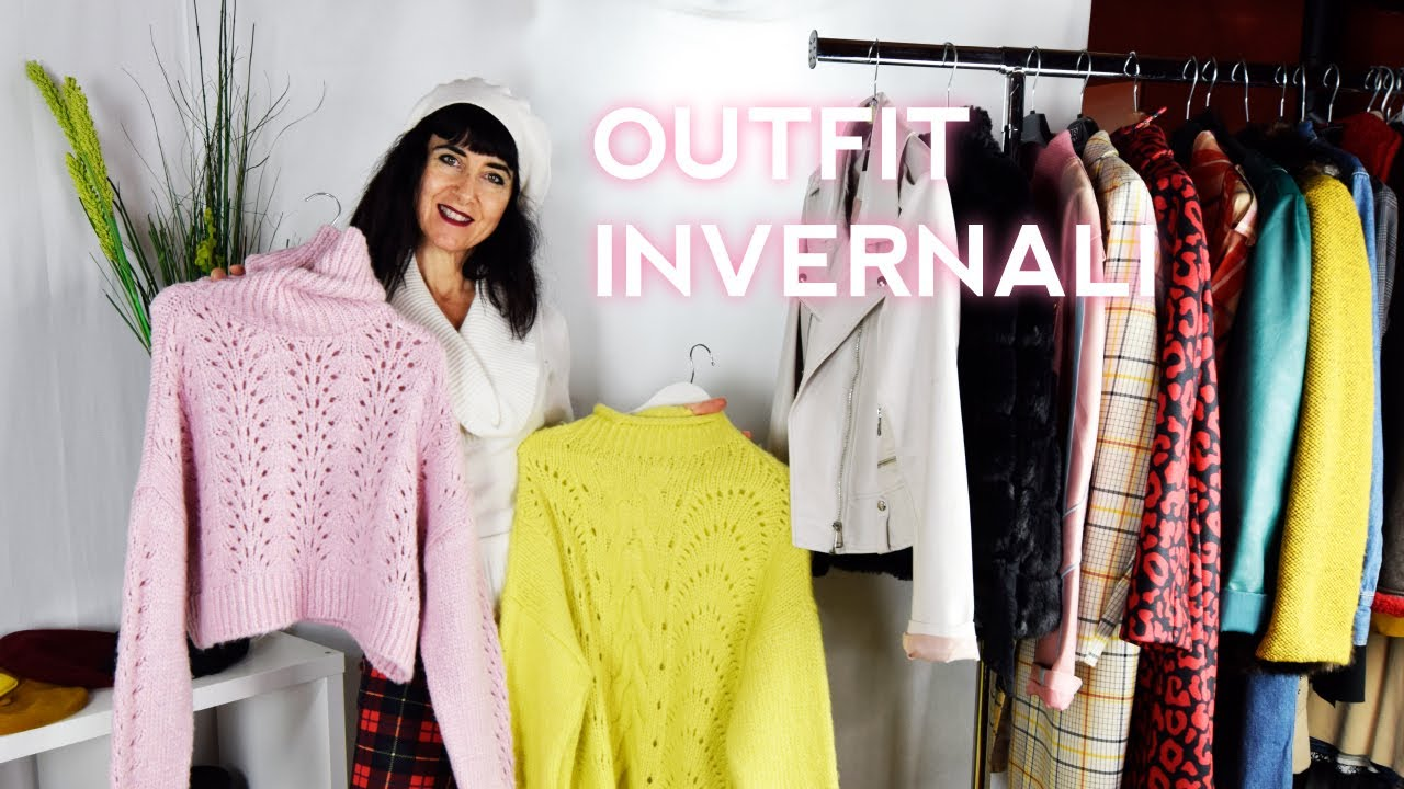 [VIDEO] - Winter outfits with fashion sweaters - #outfit 1