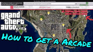 How to get a Arcade / GTA 5 Online