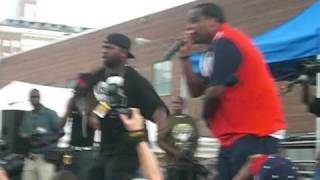 Nice and Smooth - Hip Hop Junkies - Live at the Brooklyn Hip Hop Festival 2010