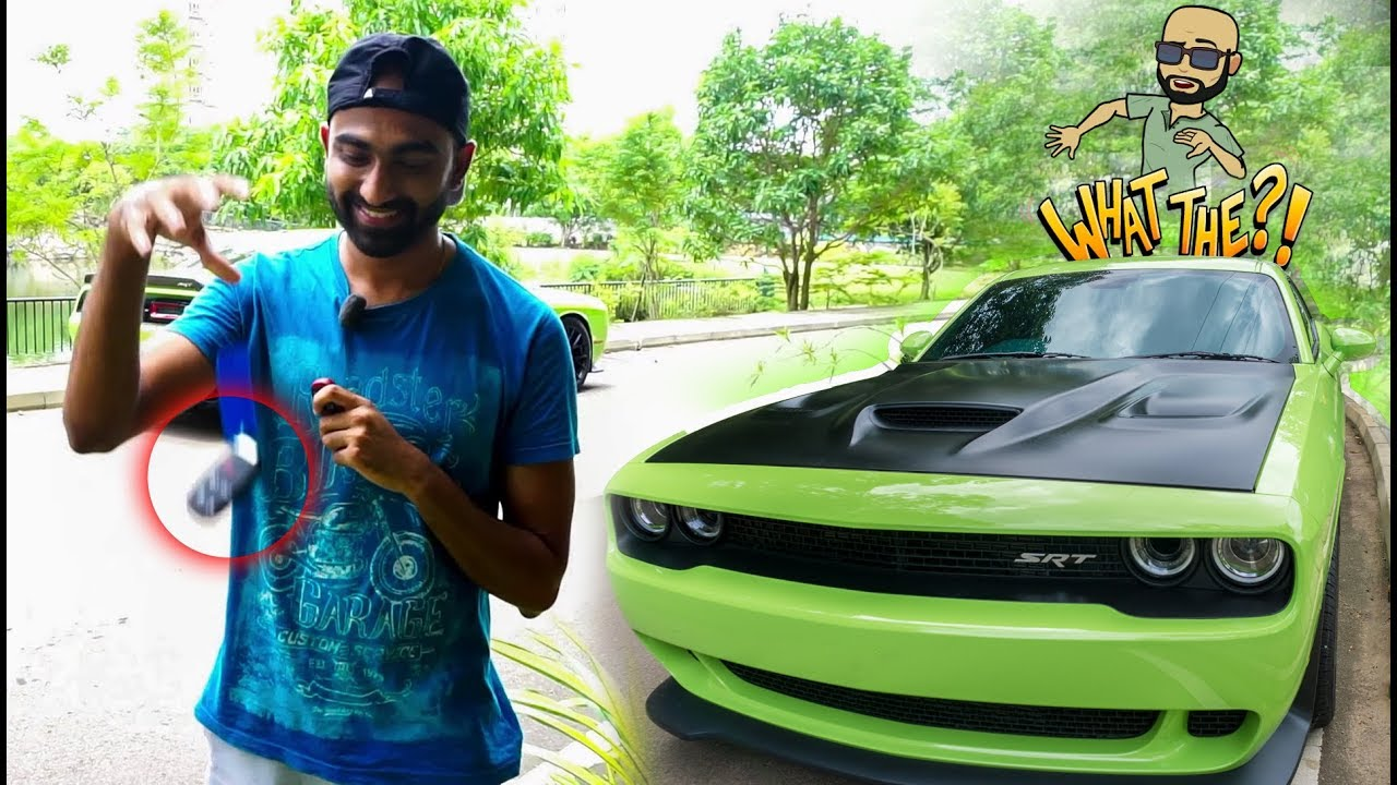 All Fast And Furious Cars >> Sri Lankan throws away Right Hand Drive Hellcat BLACK KEY ...
