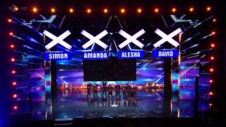 Electro Techno Dance Act   Light Balance   Britains Got Talent 2014