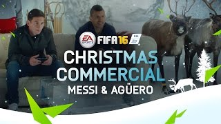 FIFA 16 - Christmas Commercial - Messi & Agüero