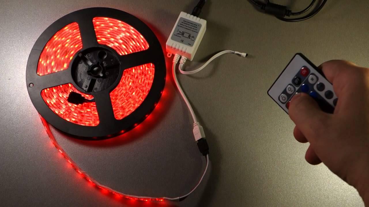 Цифровая светодиодная лента WID-RGB - YouTube