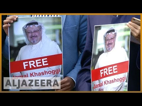 🇹🇷Missing Saudi journalist Khashoggi supporters rally in Turkey l Al Jazeera English