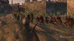 Epic M&B Warband Siege Gameplay