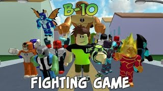 Ben 10 Fighting Game ROBLOX Gameplay Part 19 (PC, iOS, Android)