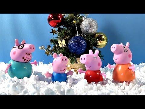 Свинка Пеппа украшает новогоднюю ёлку - Peppa Pig