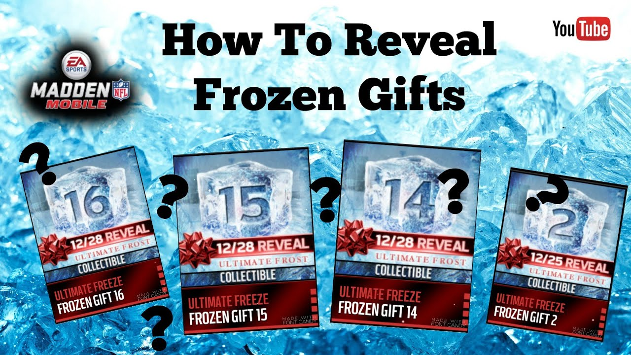 All Frozen Gifts Revealed In Advance || Madden Mobile 16 - YouTube