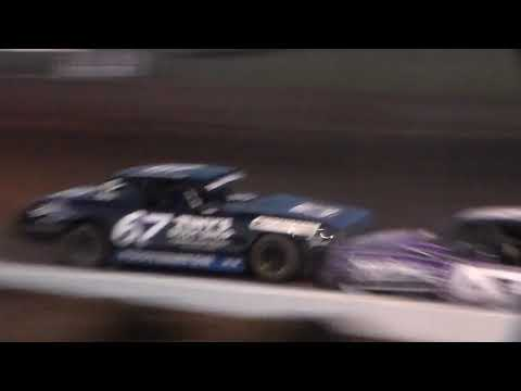 Stock Car Heat 1 @ Hancock County Speedway 08/11/17