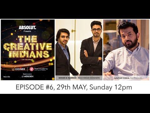 The Creative Indians with ManilRohit - Episode 6 Shivan & Narresh   Nappa Dori