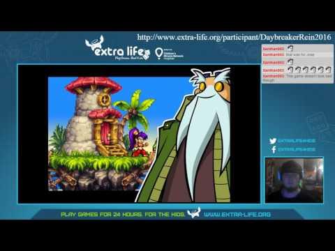 Extra Life Super Stream May 2016 Part 7 (Shantae: Risky's Revenge)