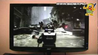 Sidex.ru: Видеообзор Xbox 360 Slim 250Gb Call Of Duty: Modern Warfare 3 (S2G-00027)