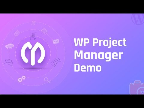 WP Project Manager Demo
