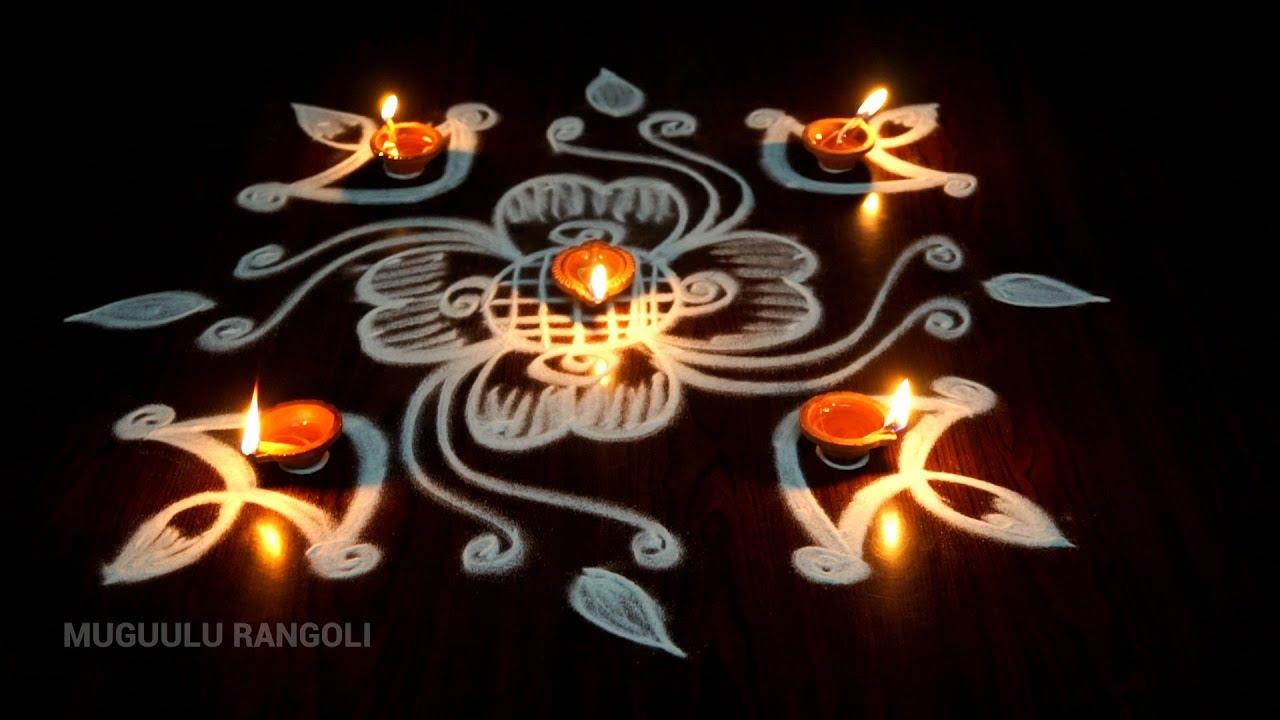 Deepavali Rangoli Designs Kolam Best Design For Diwali