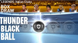 Legends Italian Clubs Pack Opening | PES 2019 Mobile