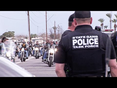 Hells Angels Run-In With Police!