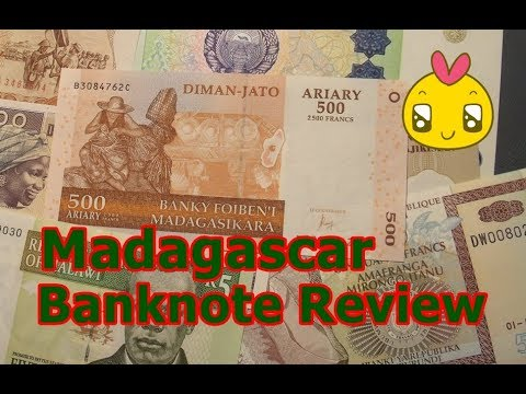 Madagascar Banknote Review 500 Ariary