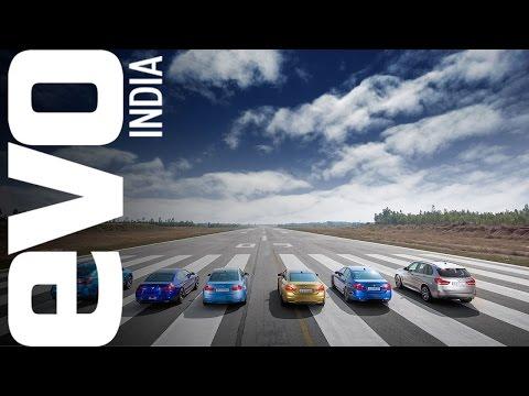 M car showdown on an airstrip