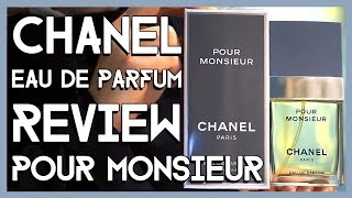 CHANEL POUR MONSIEUR eau de parfum unboxing and review