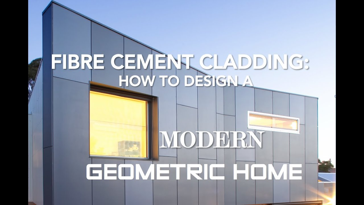 Fibre Cement Cladding How To Design A Modern Geometric