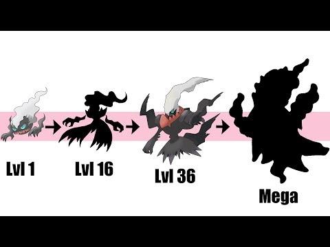 New Darkrai Evolution & Mega   Pokemon Gen 8 Fanart
