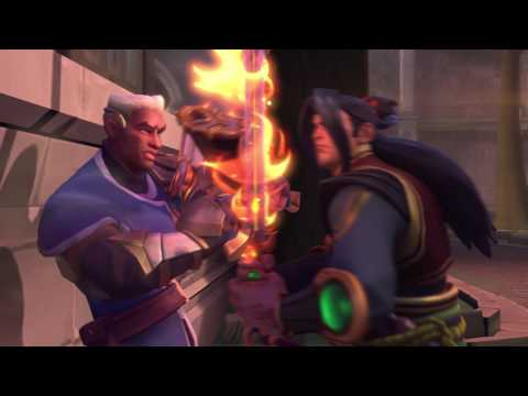 Paladins - Cinematic Trailer - 'No One Escapes the Law'