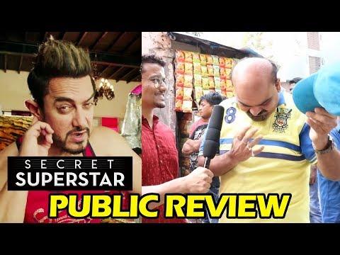 Hats Off To Aamir Khan   Secret Superstar PUBLIC REVIEW   Gaiety Galaxy Theatre
