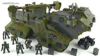 Mega Bloks Halo Elephant set 96942 review!