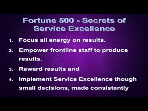 Customer Service Secrets from Fortune 500 Companies