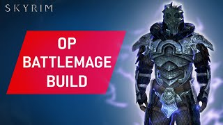 Skyrim: How To Mąke An OVERPOWERED BATTLEMAGE Build On Legendary Difficulty