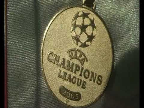 Our Planet Diaries - U.E.F.A Champions Winners Medals