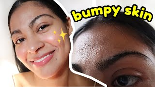 How I SMOOTH TEXTURED SKIN on my face & this is what you SHOULD NEVER skip! *my skincare routine* screenshot 4