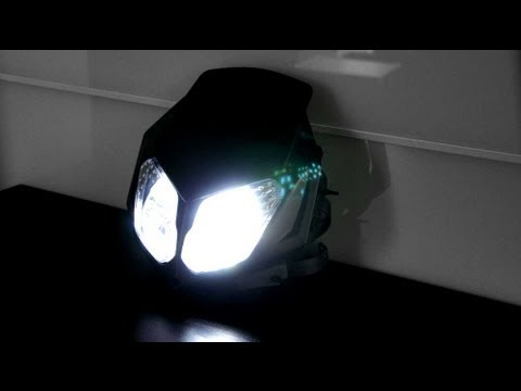 doppeloptik lichtmaske umbau auf led 39 s youtube. Black Bedroom Furniture Sets. Home Design Ideas