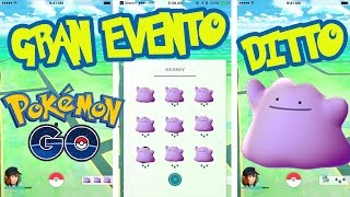 !! INCREIBLE EVENTO DITTO !! Pokemon GO en VIVO - Actualizacion 0.47.1 con ROOT Y HACK NIDO DITTO
