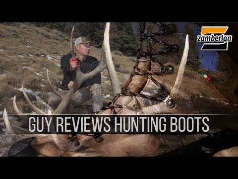 Guy Eastman Reviews Hunting Boots by Zamberlan