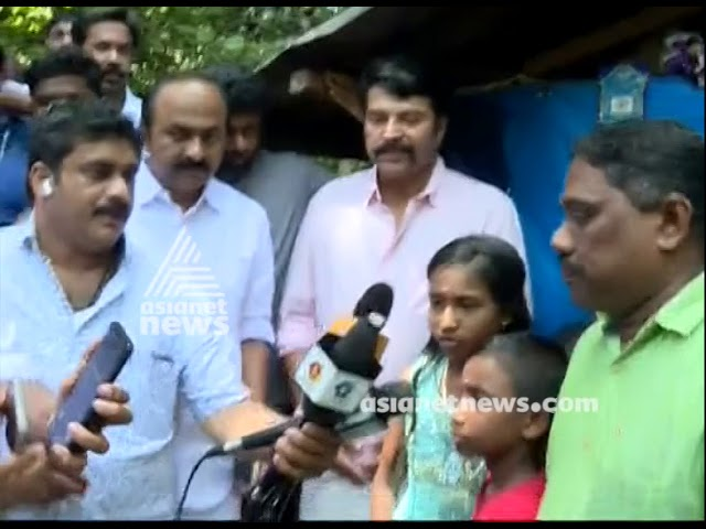 Actor visits flood affected areas of Alappuzha on his birthday