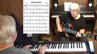 JEEPERS CREEPERS - Jazz guitar & piano cover ( Harry Warren )
