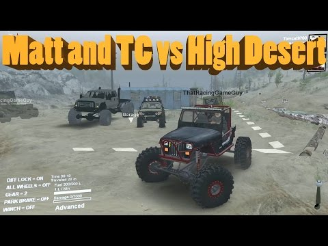 Spin Tires TC and ThatRacingGameGuy vs High Desert