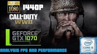 Call of Duty WWII GTX 1070 ULTRA SETTING