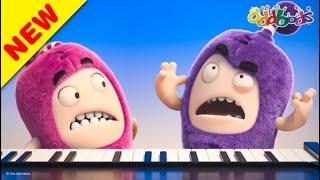 Oddbods | NEW | PECULIAR PIANO PERFORMANCE | Funny Cartoons For Kids