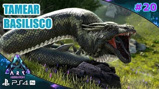 TAMEAR BASILISCO (solo)  | ARK aberration [#20]