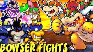 Evolution of Bowser Battles in Mario & Luigi Games (2003-2016)