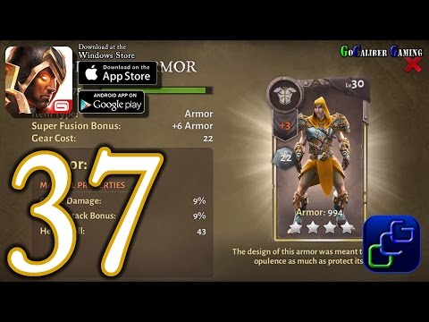 Dungeon Hunter 5 Android IOS Walkthrough - Part 37 - Solo Bounty 36-37 (HARD)