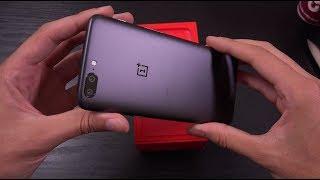 OnePlus 5 Slate Grey - Unboxing! (4K)