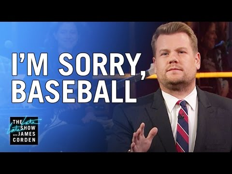 James Apologizes to Baseball